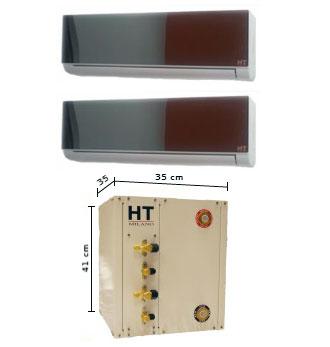 Condensati ad acqua milano climatizzatori - Unita esterna condizionatore dimensioni ridotte ...